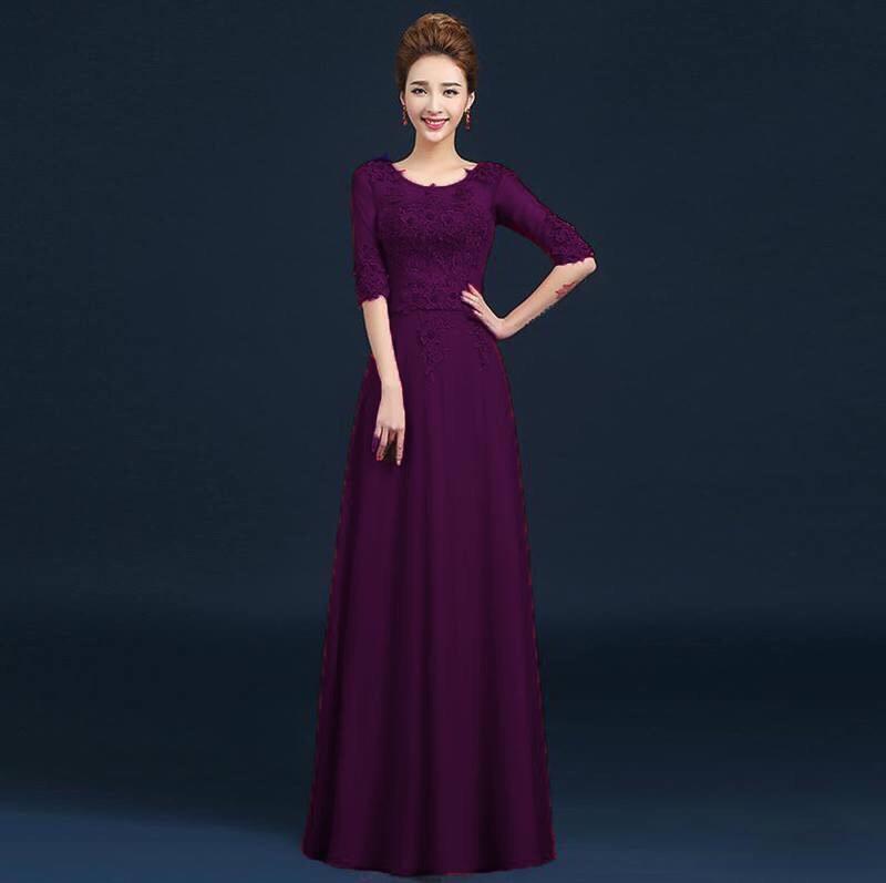 dam-da-hoi-cho-me-co-dau đầm dạ hội cho mẹ cô dâu Nên chọn đầm dạ hội cho mẹ cô dâu như thế nào? D210C