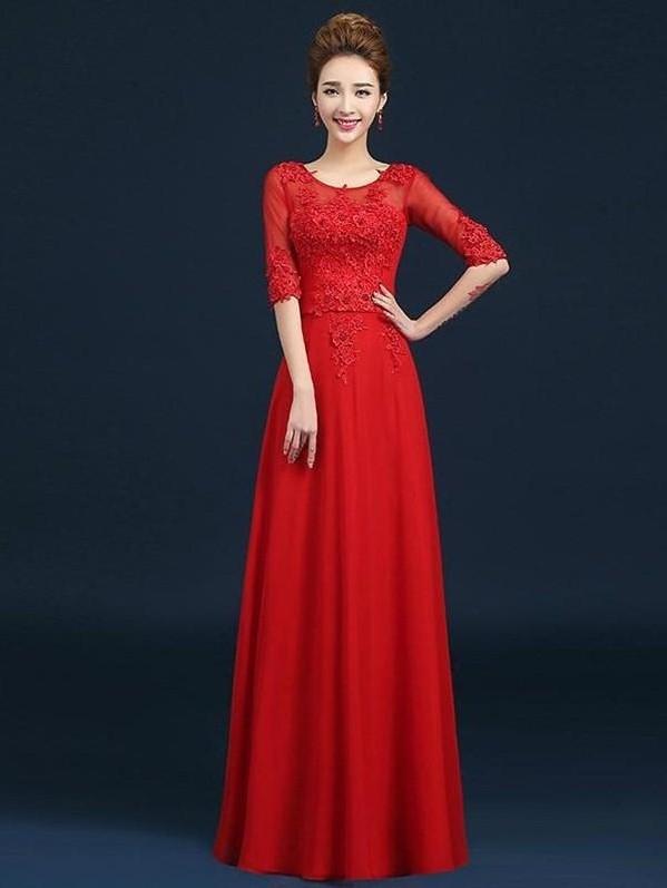 dam-da-hoi-cho-me-co-dau đầm dạ hội cho mẹ cô dâu Nên chọn đầm dạ hội cho mẹ cô dâu như thế nào? product image 187415614