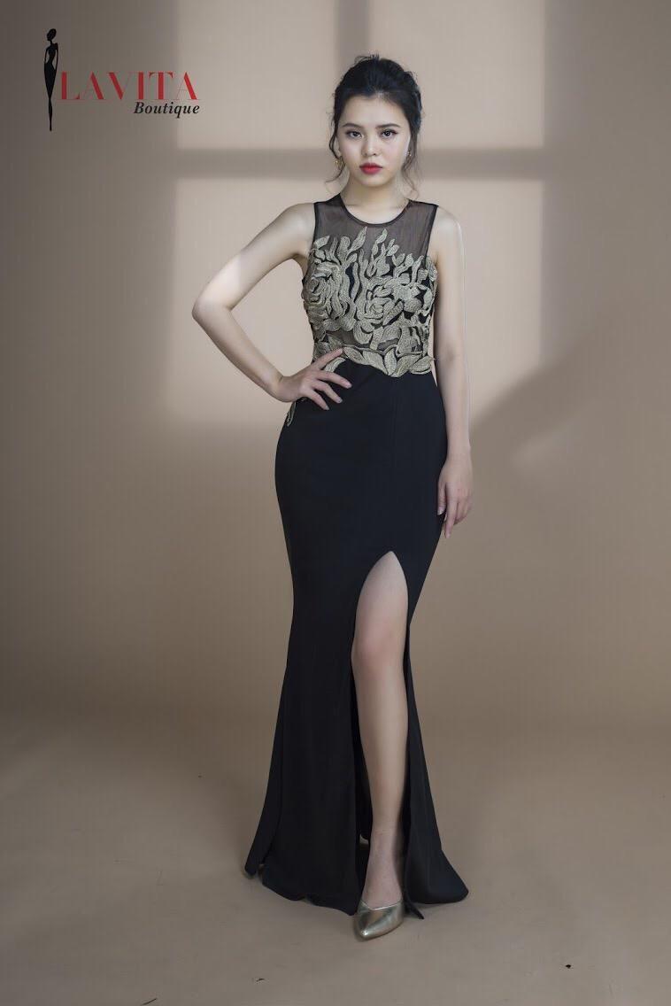 Đầm dạ hội dài giá rẻ  Đầm dạ hội dài giá rẻ chính hãng tại Lavita Boutique Dam da hoi gia re1 compressed 1