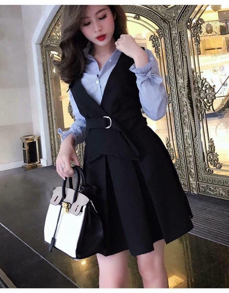 Váy đầm công sở đẹp váy đầm công sở đẹp Váy đầm công sở đẹp giá tốt tại Lavita Boutique Vay dam cong so dep