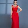 Đầm Dạ Hội Xòe Đính Ngọc Trai Thanh Lịch uy tín