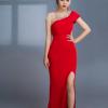 Đầm Dạ Hội Xẻ Tà Cách Điệu Cải Đính Đá uy tín