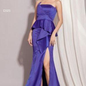 Đầm Dạ Hội Xẻ Tà Peblum sang trọng, quý phái, quyến rũ