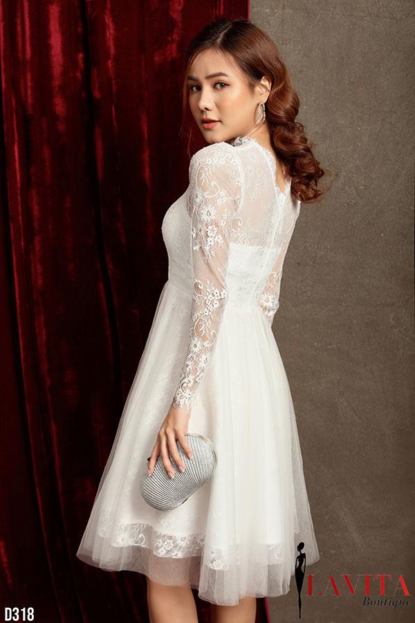 Váy đầm đi tiệc cưới váy đầm đi tiệc Mẹo diện váy đầm đi tiệc cưới vừa xinh vừa phù hợp Vay dam di tiec