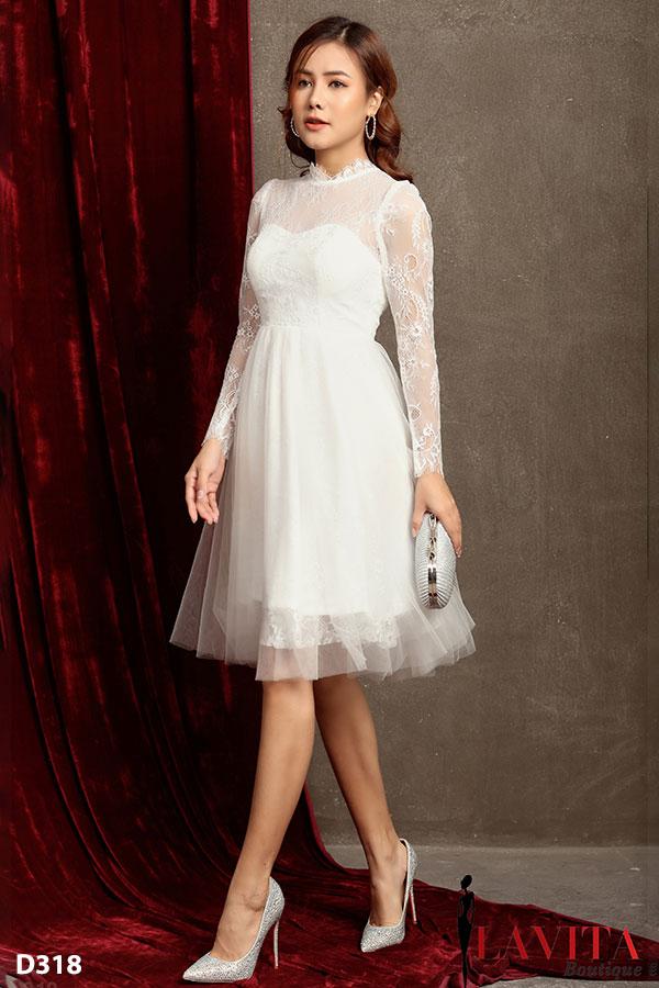 Váy đầm đi tiệc cưới váy đầm đi tiệc Mẹo diện váy đầm đi tiệc cưới vừa xinh vừa phù hợp Vay dam du tiec 1
