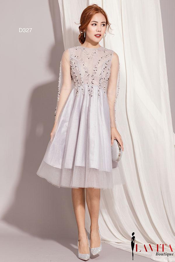 vay-dam-ngan váy đầm ngắn Cách diện váy đầm ngắn cực xinh giúp các nàng tỏa sáng đi dự tiệc Vay dam ngang dai goi