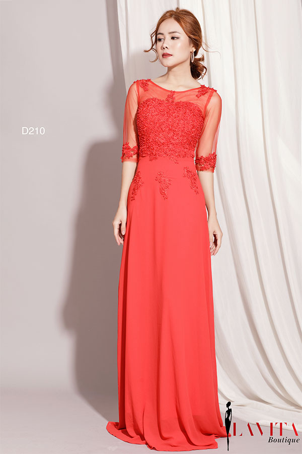 Vay-dam-nu-dep váy đầm nữ Nên diện váy đầm nữ ngày Tết thế nào vừa sang vừa xinh? Vay dam nu dep 3
