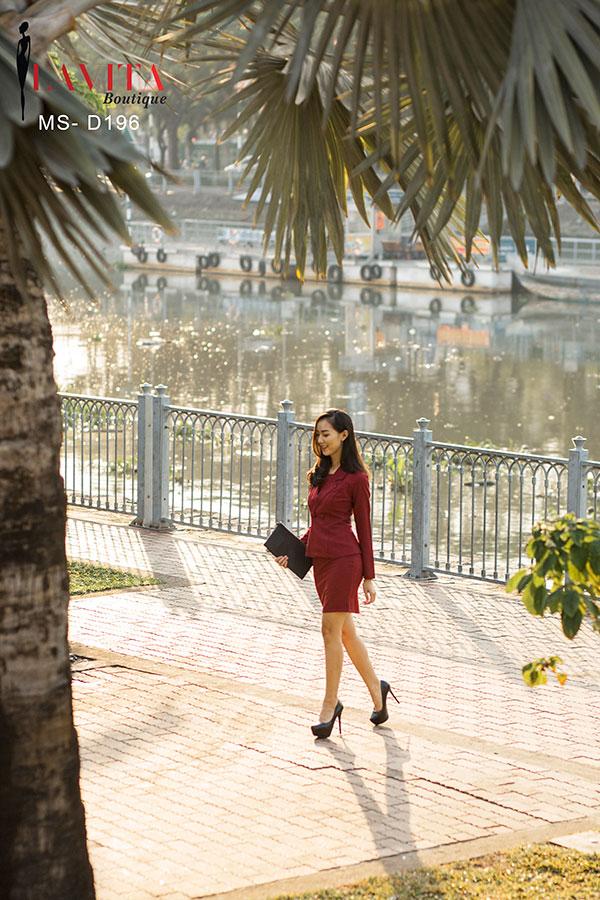 dam-cong-so Đầm công sở Váy đầm công sở Hàn Quốc đẹp, dễ thương giá rẻ nhất d 196 4