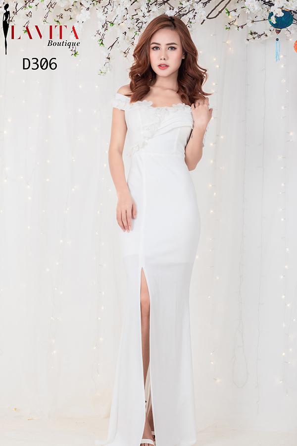 dam-da-hoi-mau-trang Đầm dạ hội màu trắng Cách diện đầm dạ hội màu trắng xinh đẹp như thiên thần d 306 1 1