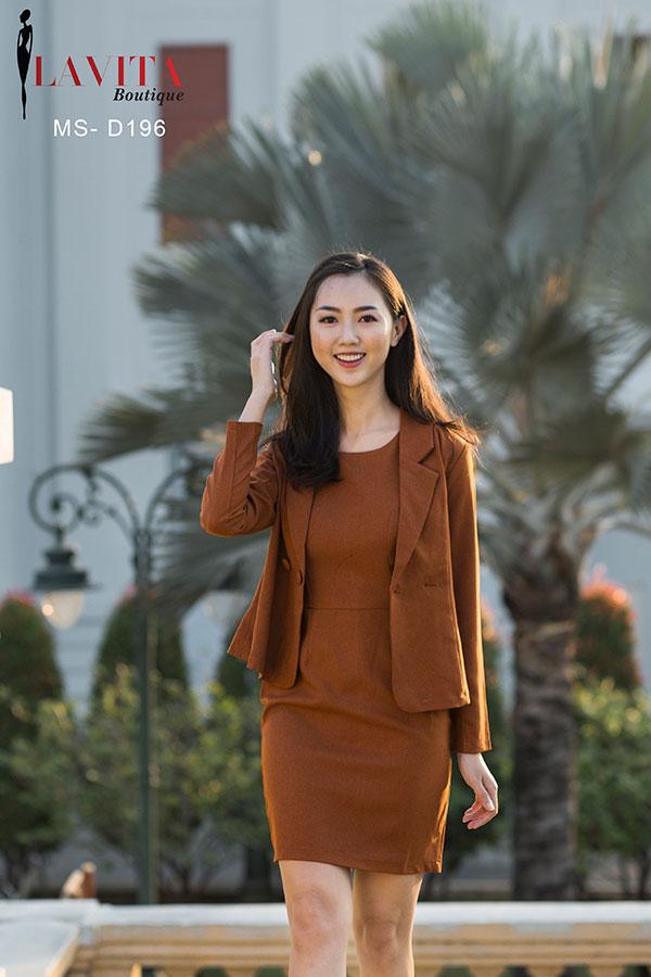 vay-cong-so-lien-than-1 váy công sở liền thân Diện váy công sở liền thân đi làm lợi đủ đường d 196 2 3