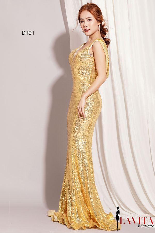 dam-da-hoi-mau-vang (2) Đầm dạ hội màu vàng Đầm dạ hội màu vàng: Sự lựa chọn hoàn hảo cho các quý cô trung niên dam da hoi mau vang 2