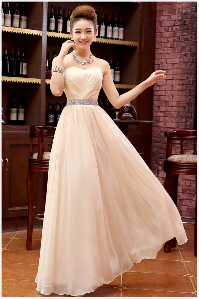 đầm dạ hội Cách chọn đầm dạ hội phù hợp với mọi ngoại hình dam da hoi1